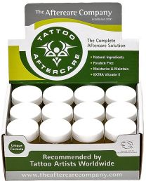 TATTOO AFTERCARE® White Lids 24 x 10g