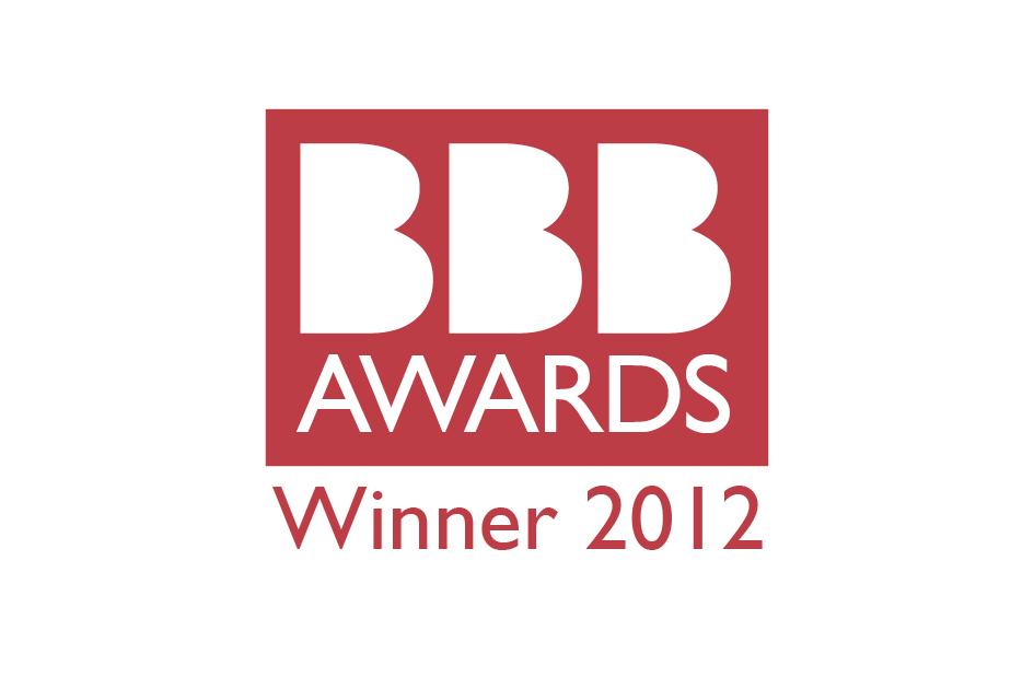 Winner of 2012 best business awards